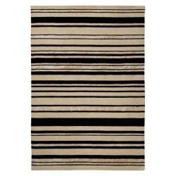 Tappeto moderno Wallflor Barcode Black White Lauren Jacob