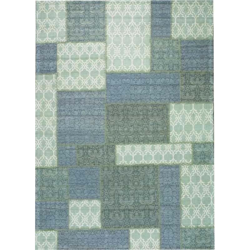 Tappeto moderno Wallflor Patchwork 2 Light Grey Lauren Jacob