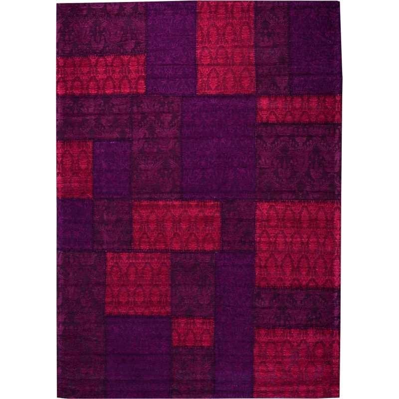 Tappeto moderno Wallflor Patchwork 9 Red Lauren Jacob