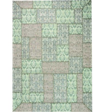Carpet moderno Wallflor Patchwork 3 Artic Lauren Jacob