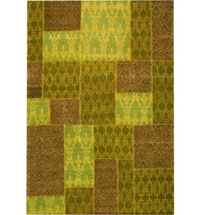 Carpet moderno Wallflor Patchwork 5 Yellow Lauren Jacob
