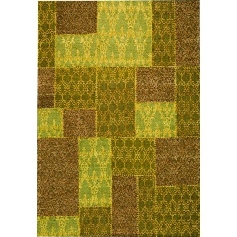 Tappeto moderno Wallflor Patchwork 5 Yellow Lauren Jacob