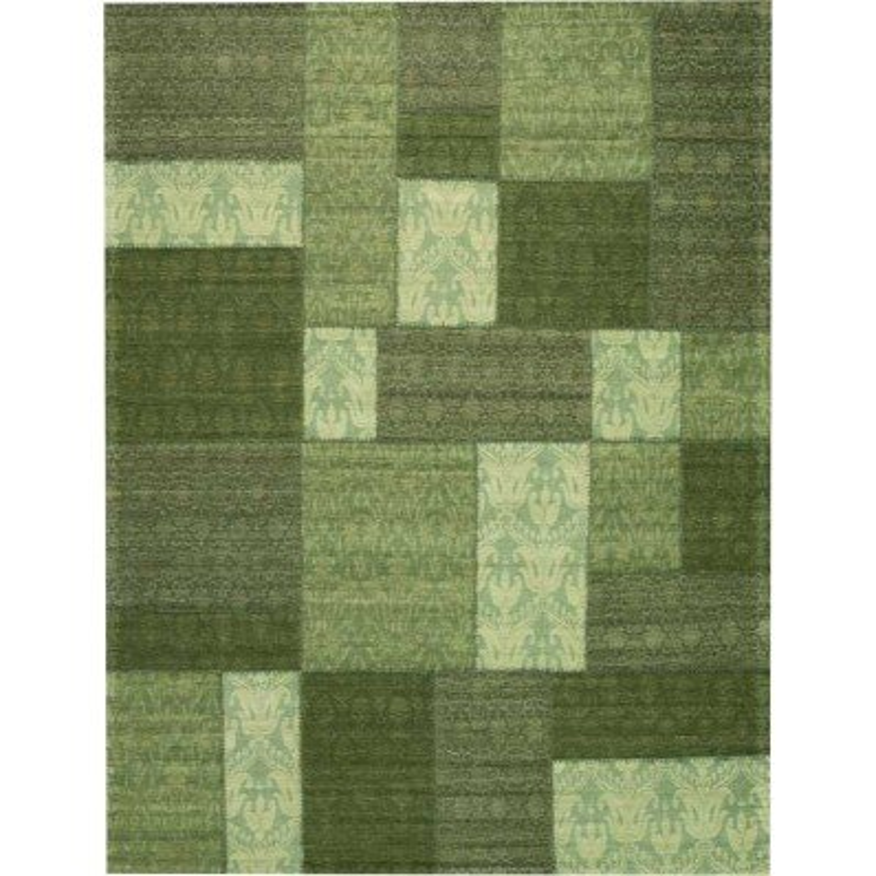 Carpet moderno Wallflor Patchwork 6 Green Lauren Jacob