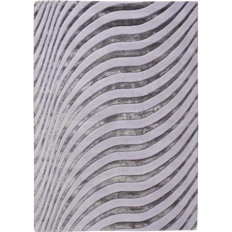 Carpet moderno Wallflor Nadir 120 Light Grey Lauren Jacob