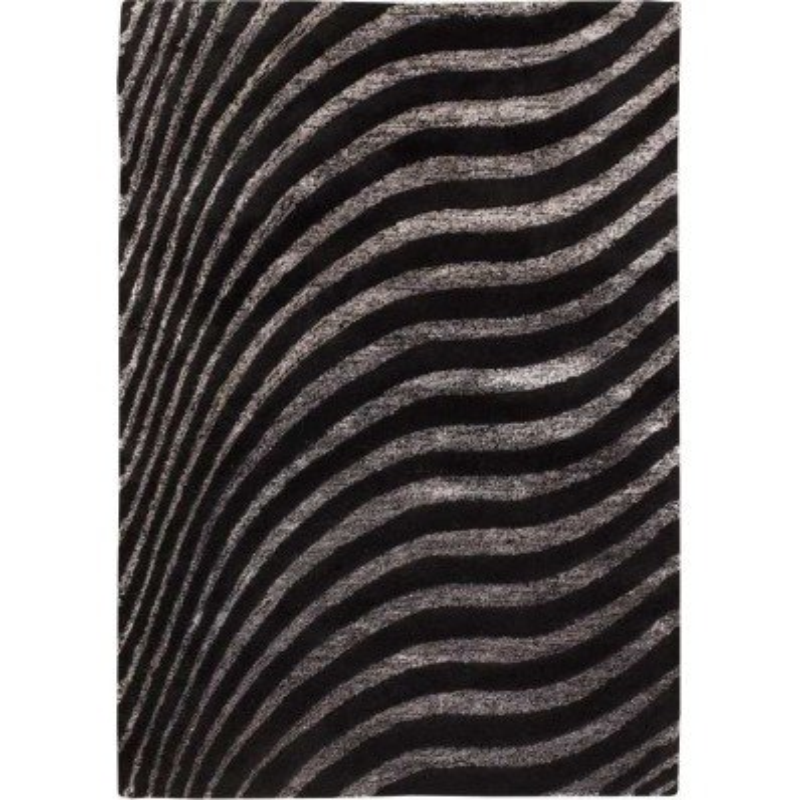 Carpet moderno Wallflor Nadir 130 Black Lauren Jacob