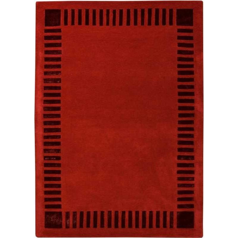 Tappeto moderno Wallflor Nadir 180 Red Lauren Jacob