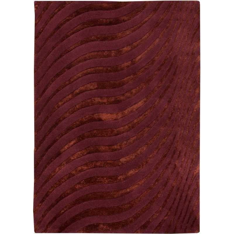 Carpet moderno Wallflor Nadir 165 Aubergine Lauren Jacob
