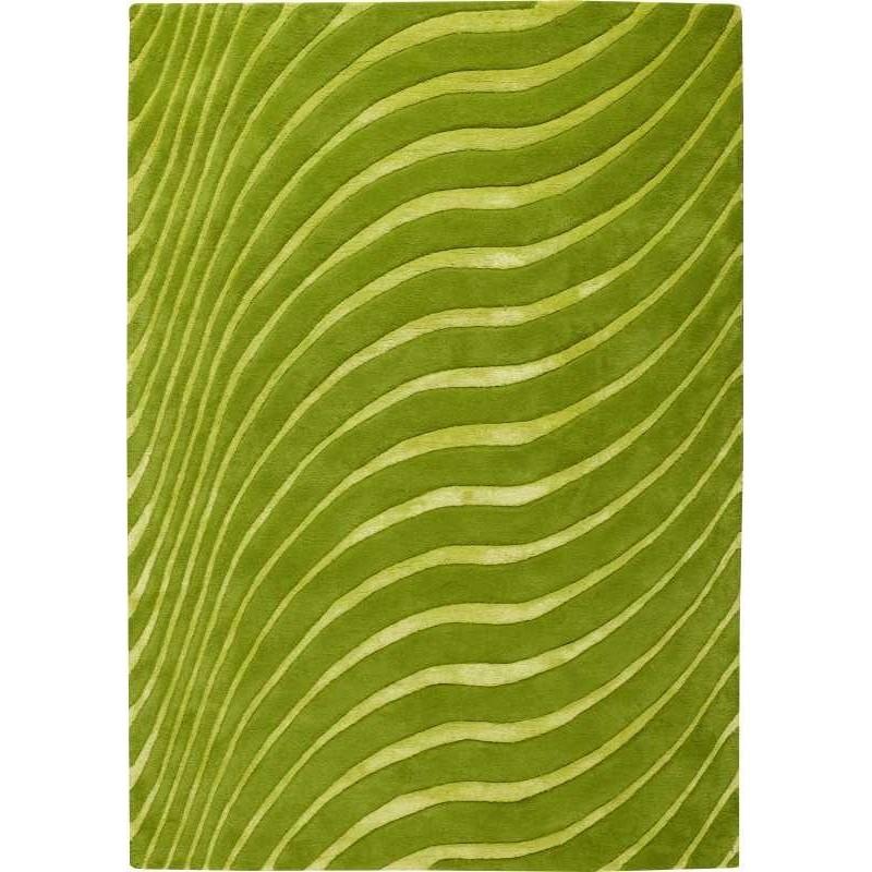 Carpet moderno Wallflor Nadir 199 Green Lime Lauren Jacob