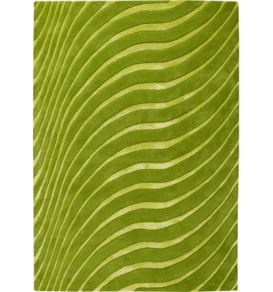 Tappeto moderno Wallflor Nadir 199 Green Lime Lauren Jacob
