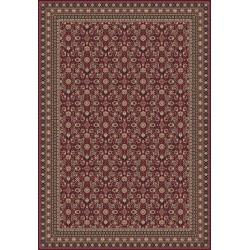 Carpet classico Tabriz classico rosso senza medaglione 12176