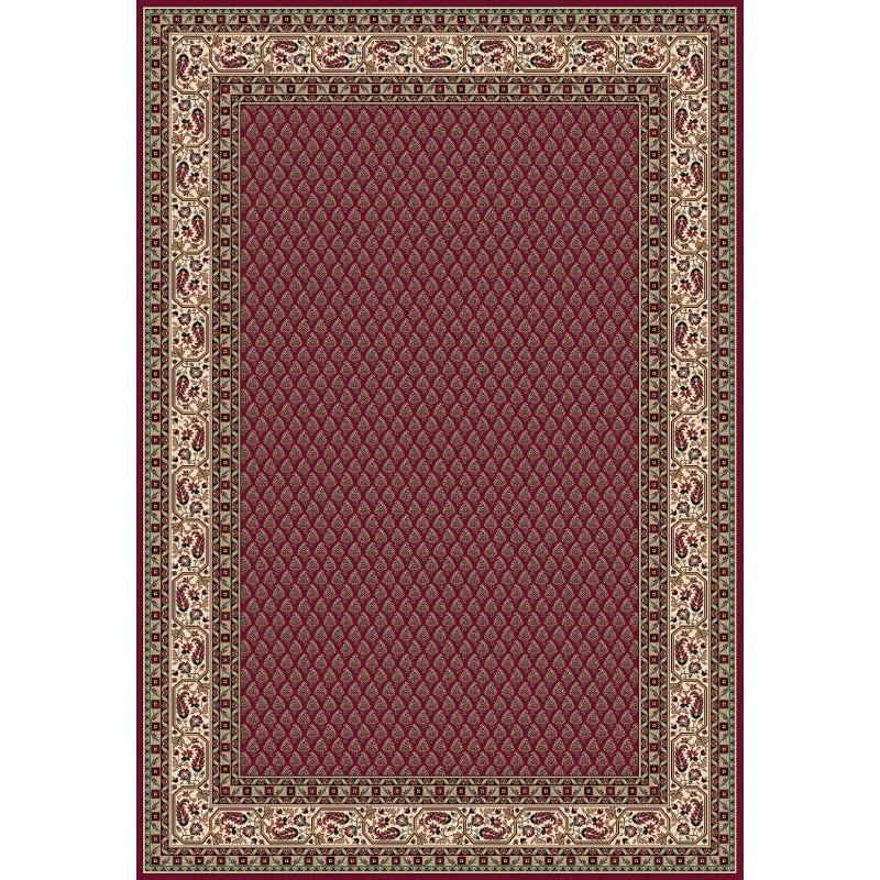 Tappeto persiano Mir classico senza medaglione rosso 12264