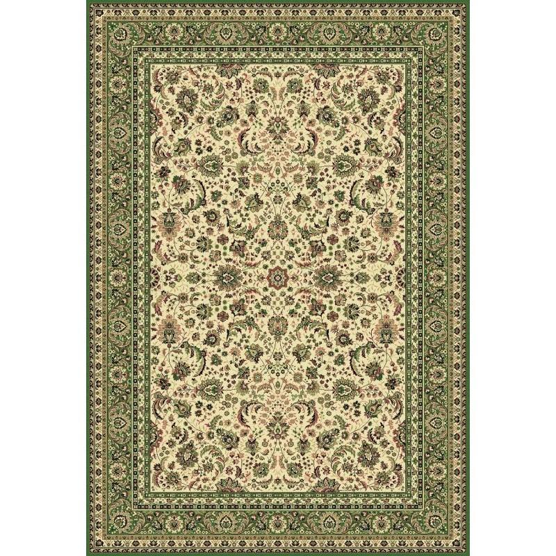 Tappeto persiano Tabriz classico floreale crema-verde 13720