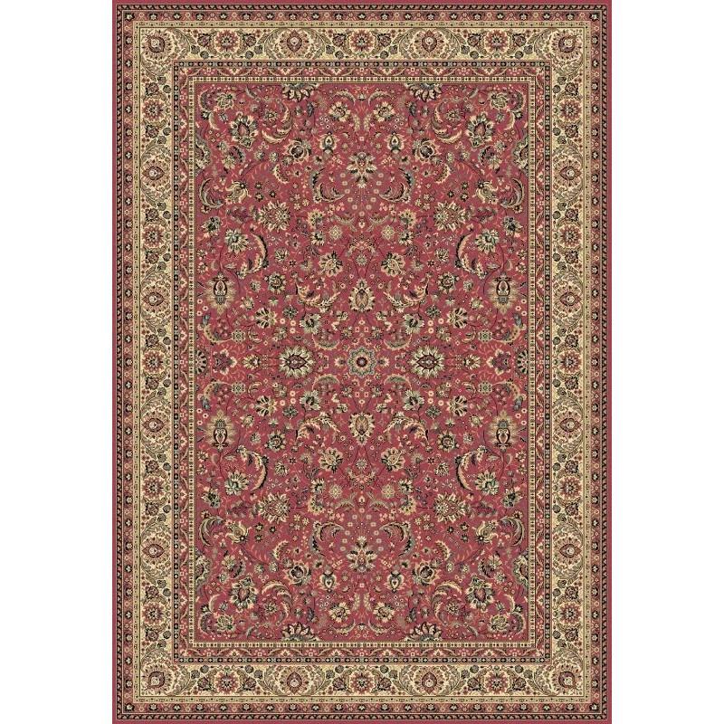 Tappeto persiano Tabriz classico floreale rosa 13720