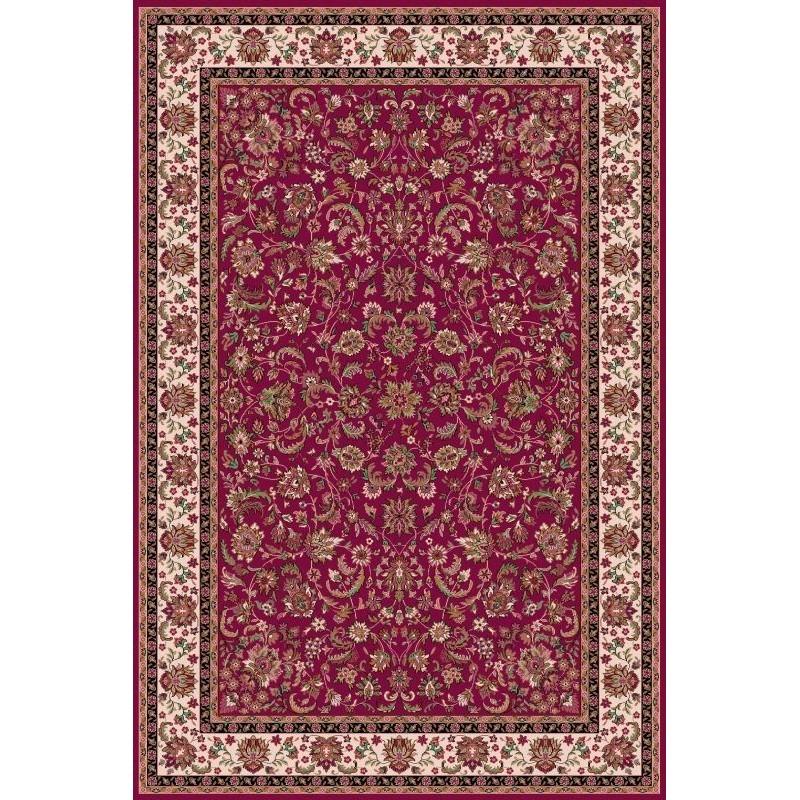 Tappeto persiano Isfahan lana rosso 1276-677