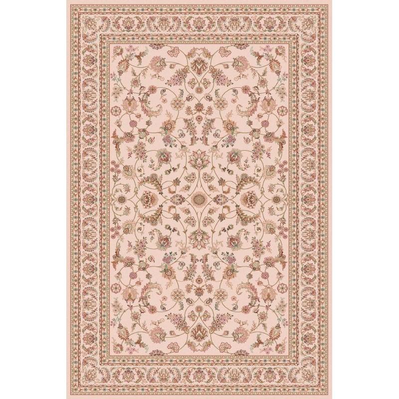 Carpet classico Isfahan lana crema-terra cotta 1277-694
