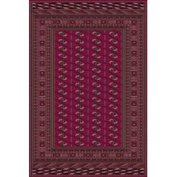 Carpet classico Bukhara lana extra fine rosso 6211-677