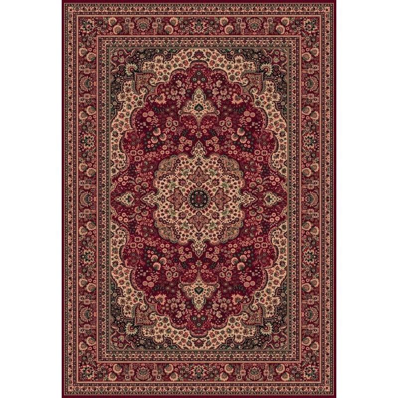 Tappeto persiano Bijar fine lana rosso 1560