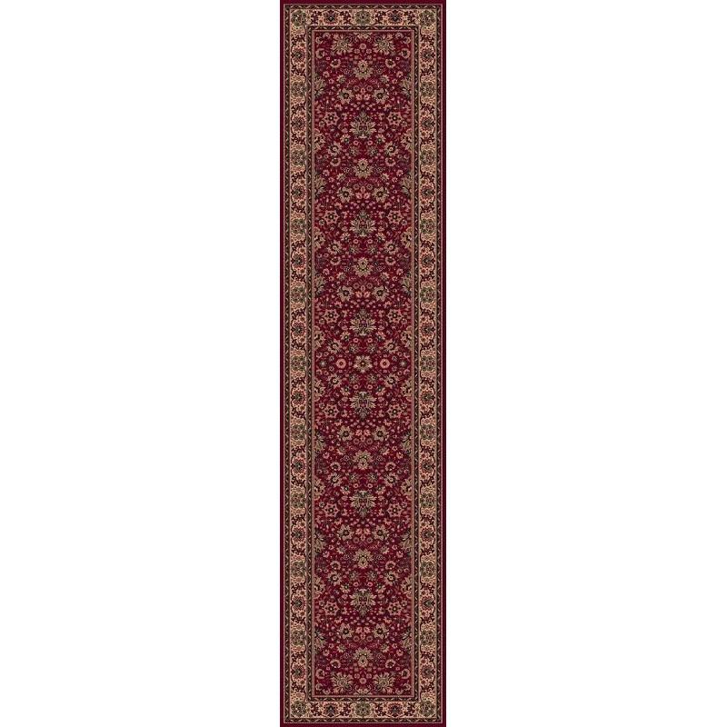 Carpet classico Tabriz fine lana passatoia rosso 1561-507