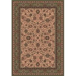 Carpet classico Tabriz fine lana crema-verde 1561-508