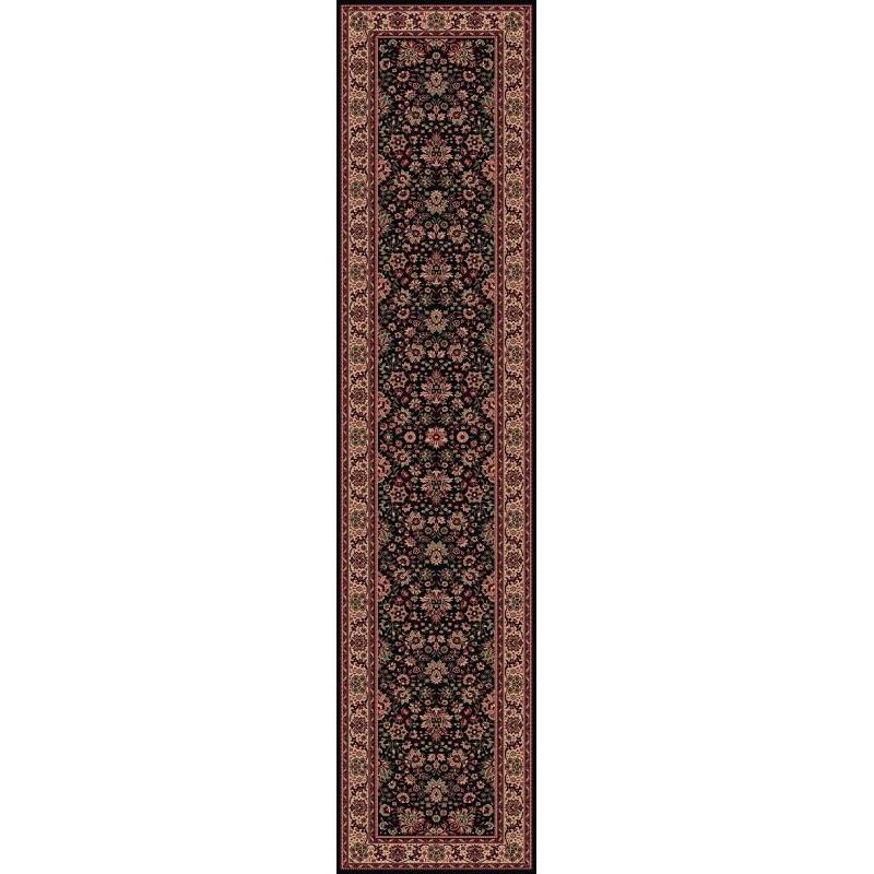 Tappeto persiano Tabriz fine lana passatoia marine 1561-509