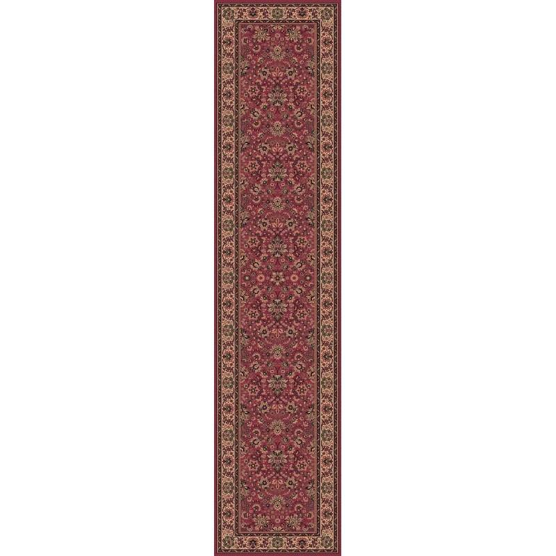 Carpet classico Tabriz fine lana passatoia rosa 1561-516