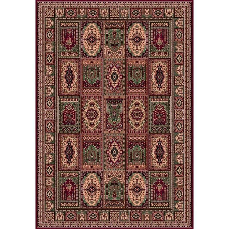 Tappeto persiano Bakhtiar fine lana rosso 1569