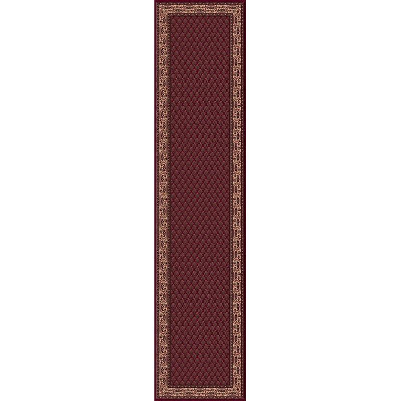 Carpet classico Mir fine lana passatoia rosso 1581