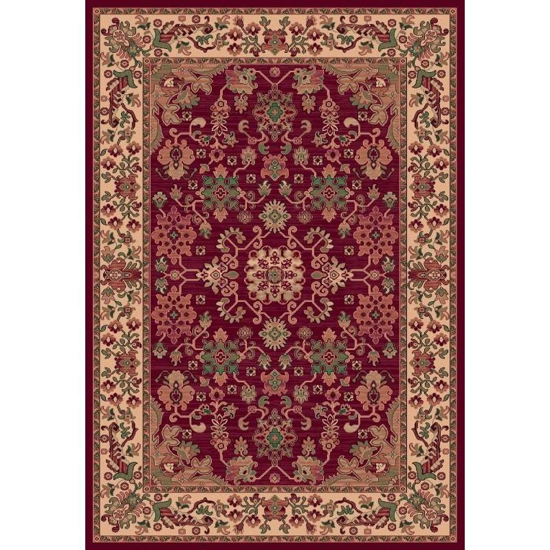 Carpet classico Kotan fine lana rosso 1630