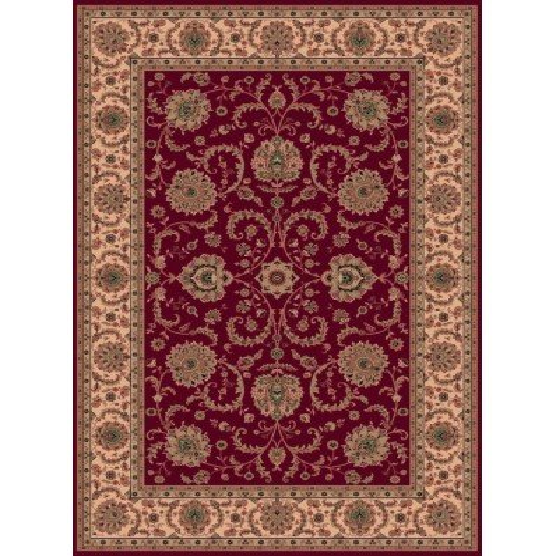 Carpet classico Ziegler fine lana rosso 1640