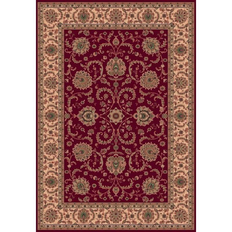 Tappeto persiano Ziegler fine lana rosso 1640