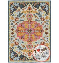 tappeto orientale Bronte Colours Multi Medallion multicolor