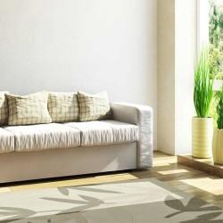 Carpet moderno Foglie Natalia Pepe (-35%) cream cm.200x300 di SITAP