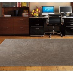 Carpet moderno Foglie 55 Natalia Pepe (-35%) brown cm.200x300 di SITAP