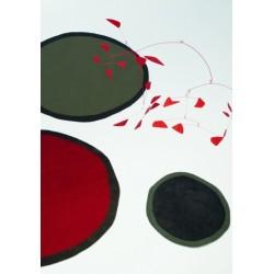 Carpet Aros Nanimarquina red rotondo