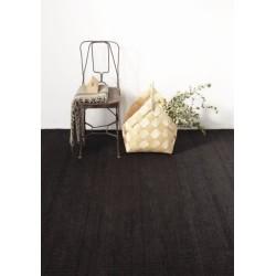 Carpet Vegetal Nanimarquina black
