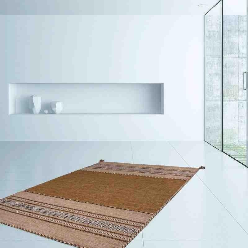 tappeto moderno geometrico alhambra 335 marrone