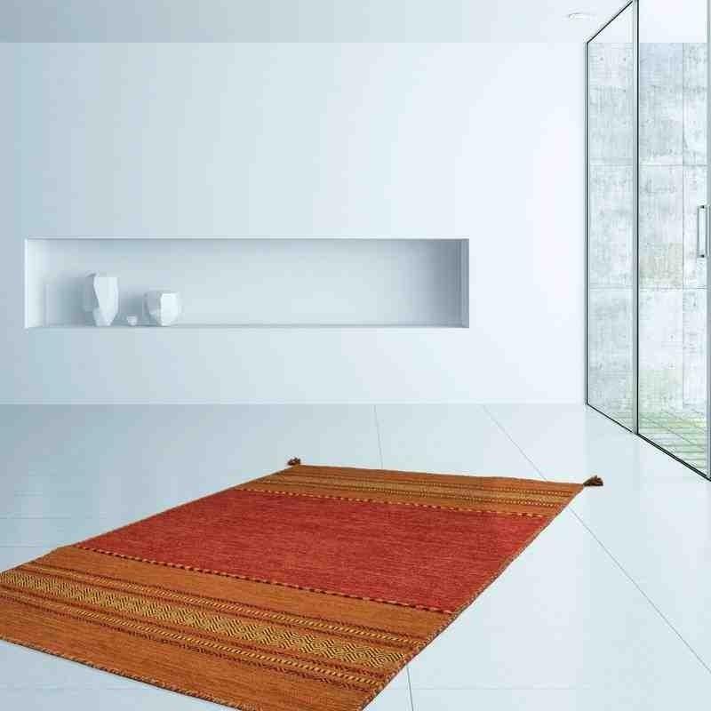 tappeto moderno geometrico alhambra 335 terra
