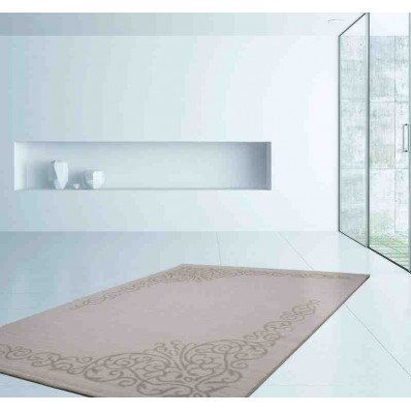 tappeto moderno geometrico austria leoben crema
