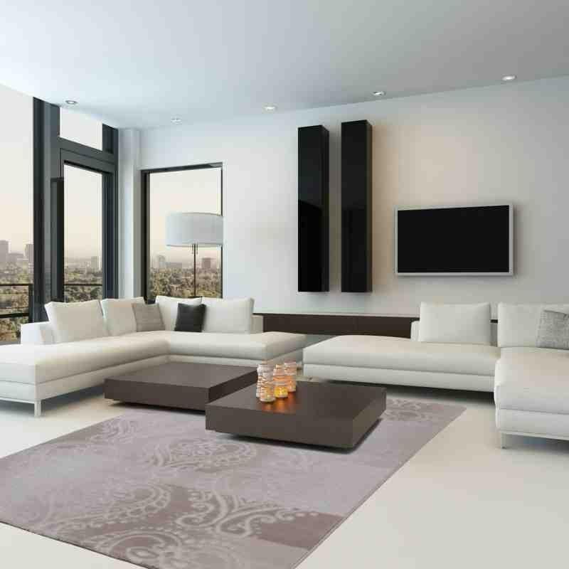 tappeto moderno geometrico austria wels visone