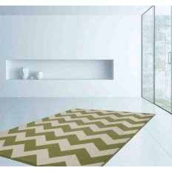 tappeto moderno geometrico manolya 2095 verde