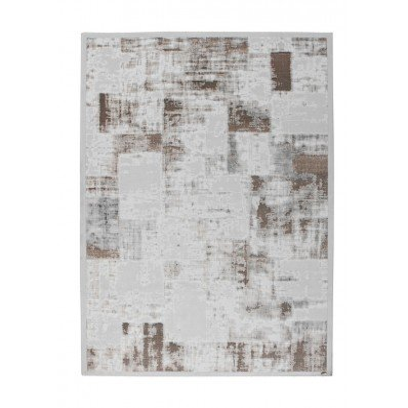 tappeto moderno Pierre Cardin Voila Exclusive 110 argento/beige