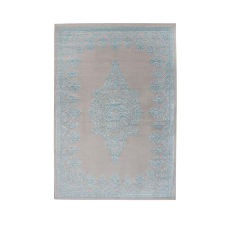tappeto moderno Pierre Cardin Caprice Exclusive 110 argento/azzurro