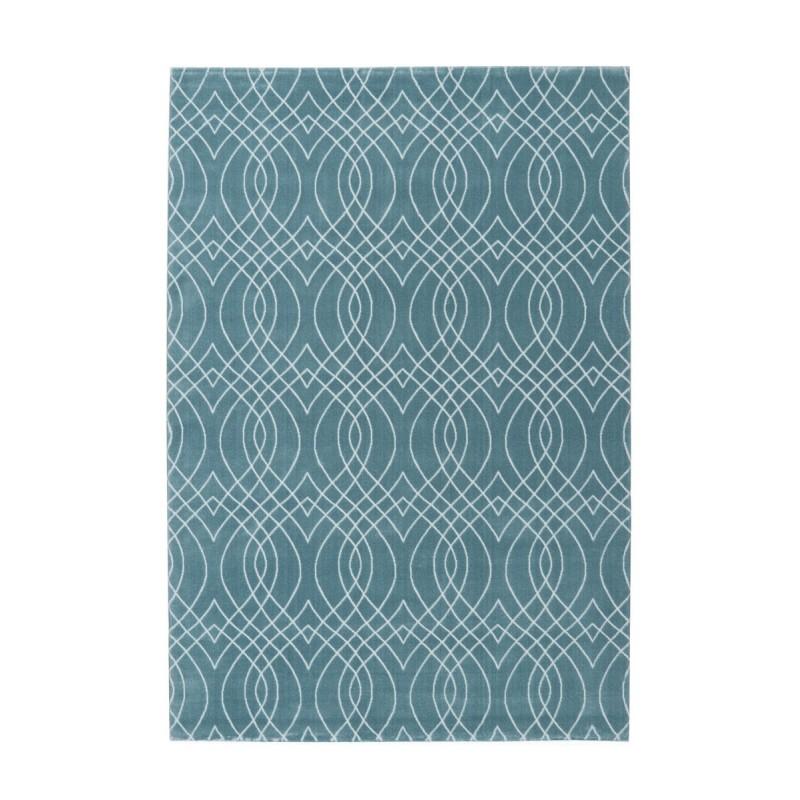tappeto moderno Pierre Cardin Bellevie Exclusive 110 azzurro