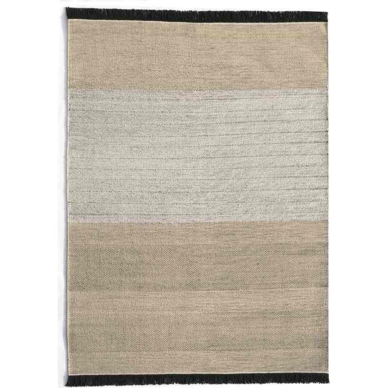 tappeto Nanimarquina Tres Outdoor stripes black
