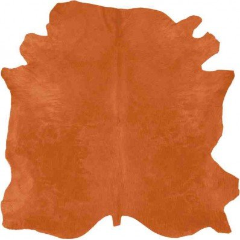 Tappeto Sitap Pelle Conciata Orange