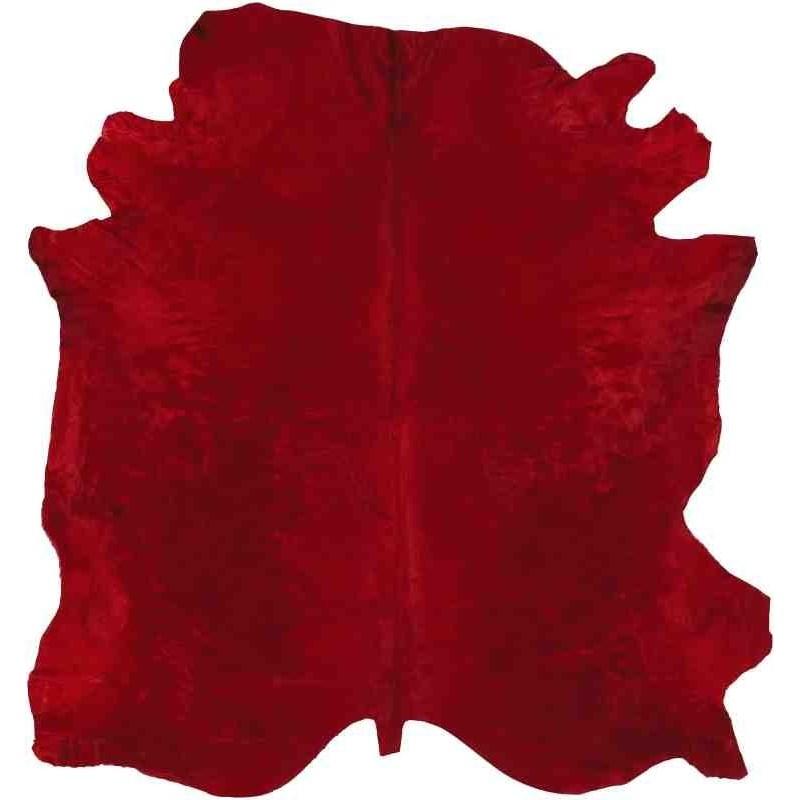 Tappeto Sitap Pelle Conciata Red