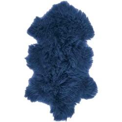 Tappeto Sitap Pelle Tibet Blue