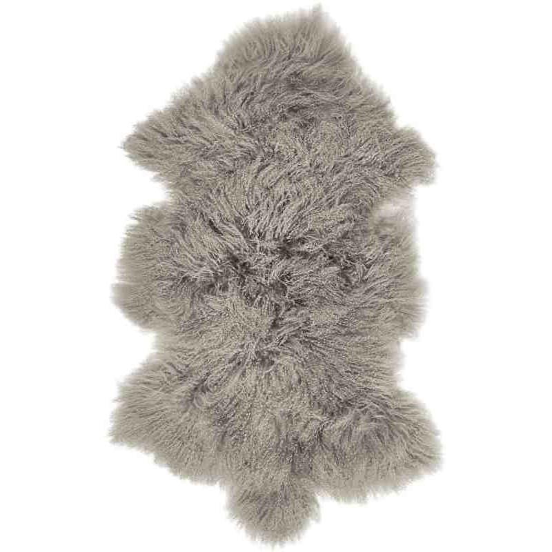 Tappeto Sitap Pelle Tibet Stone Grey