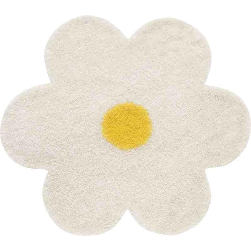 Tappeto Sitap Daisy 6010 White Rotondo