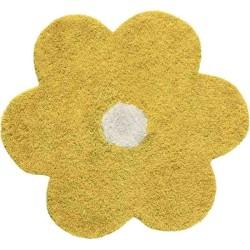 Tappeto Sitap Daisy 6010 Yellow Rotondo